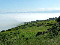 Fog over the Cliff Walk in Howth